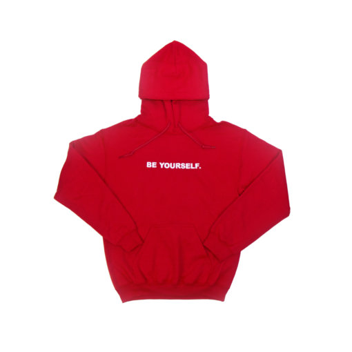 Red Hoodie Front